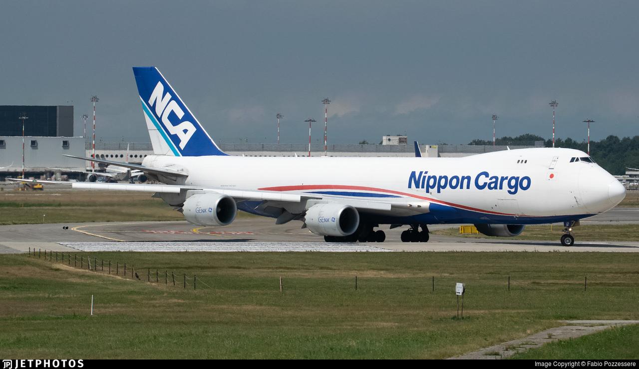 JA12KZ - Boeing 747-8KZF - Nippon Cargo Airlines (NCA)