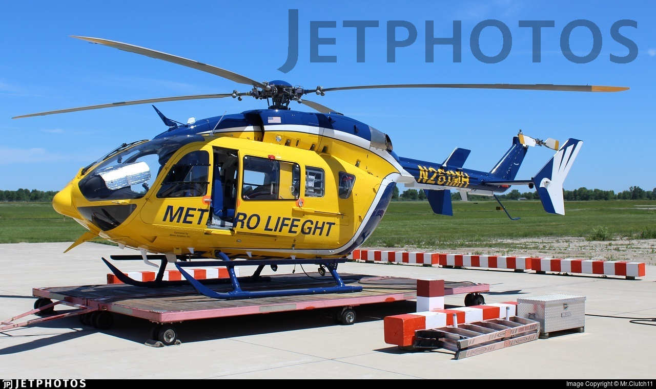 N261MH - Eurocopter EC 145 - Metro Life Flight