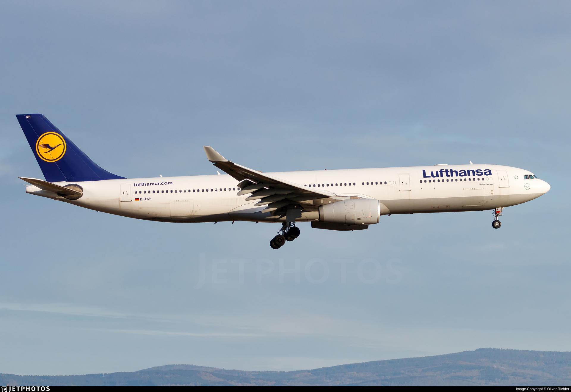 D-AIKH - Airbus A330-343 - Lufthansa