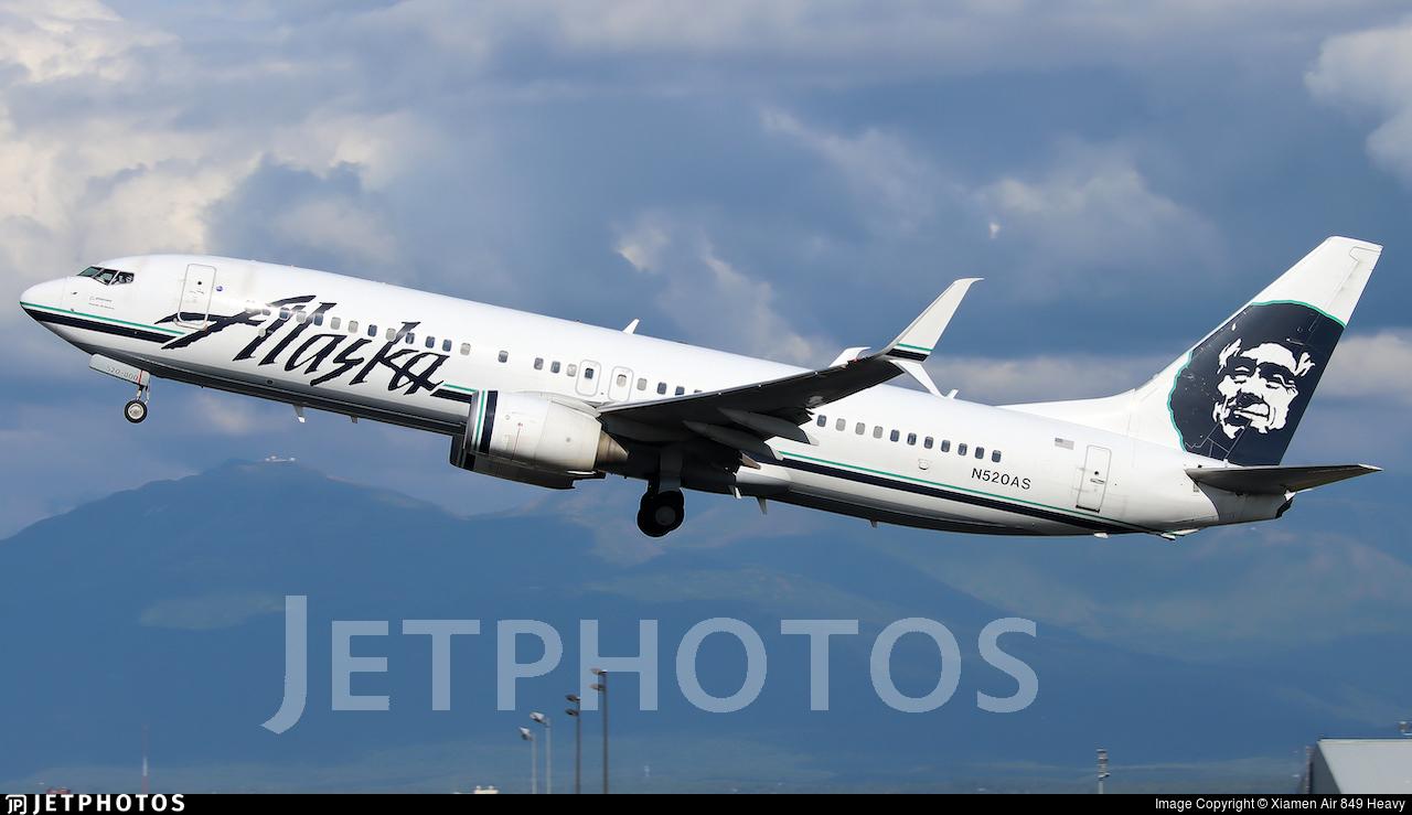 N520AS - Boeing 737-890 - Alaska Airlines
