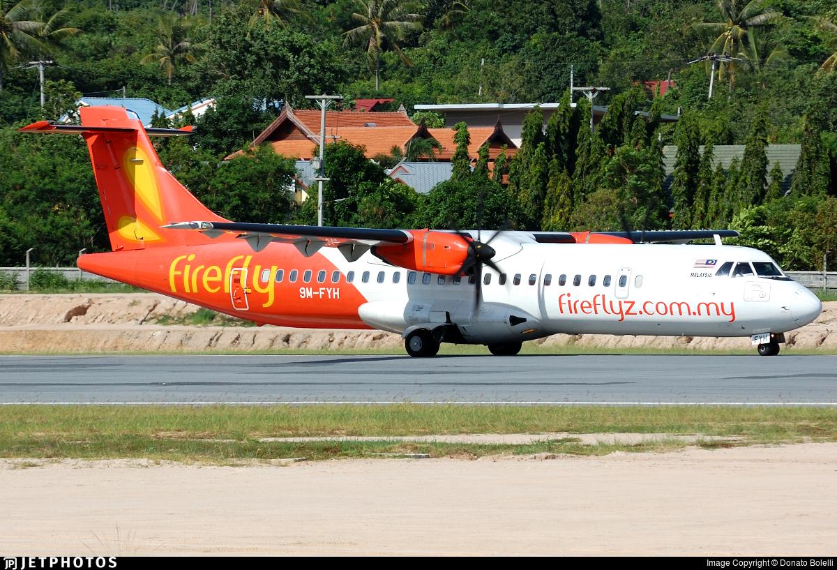 9M-FYH - ATR 72-212A(500) - Firefly