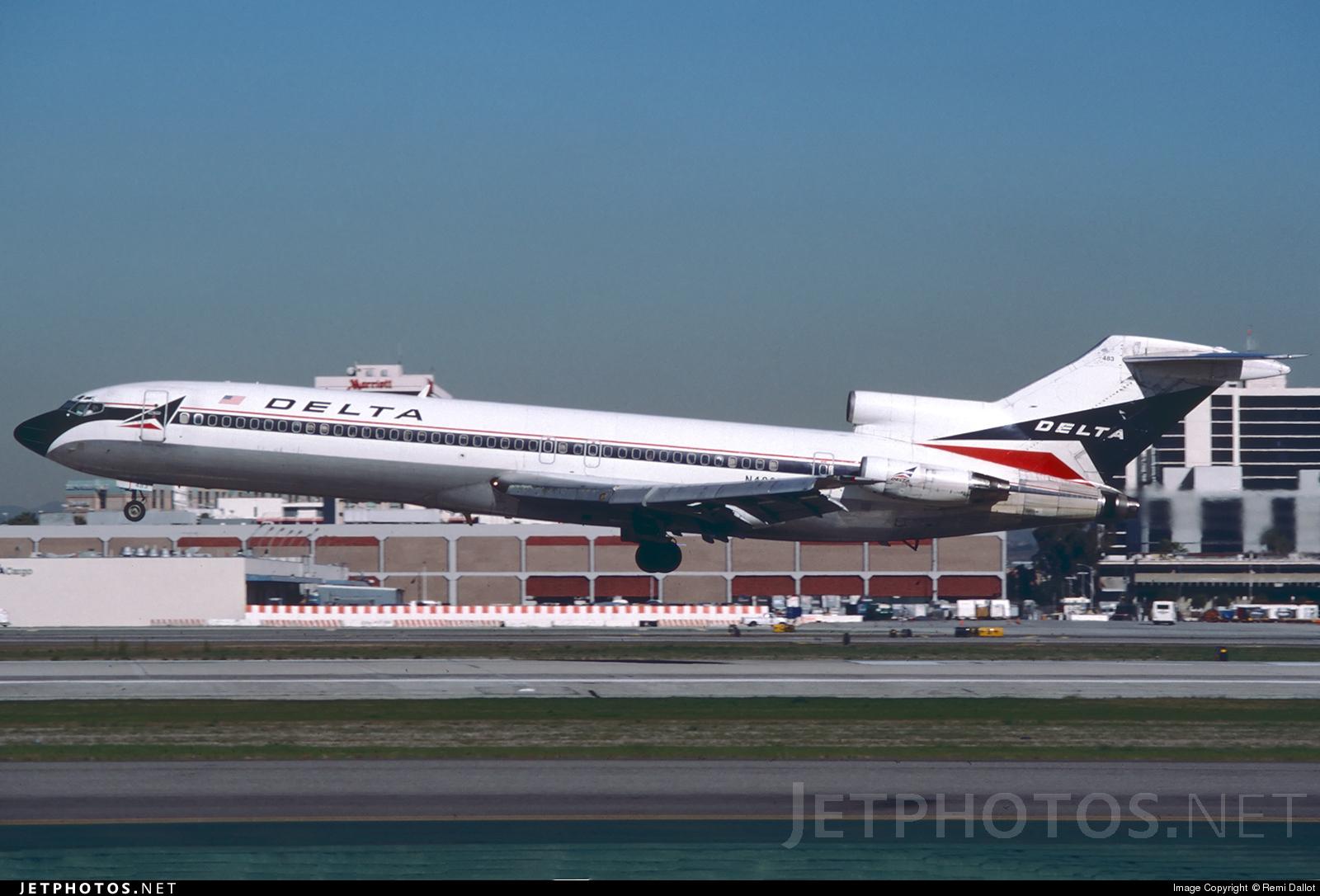 N483DA - Boeing 727-232(Adv) - Delta Air Lines