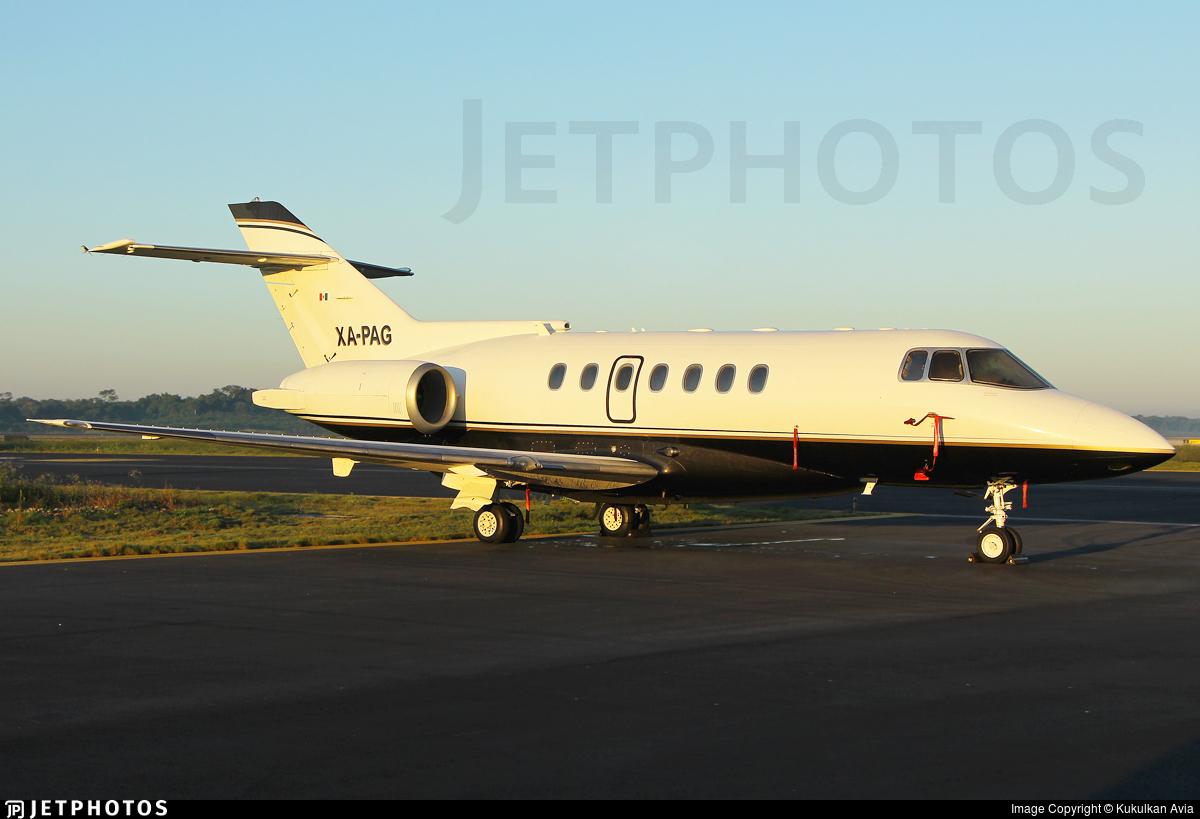 XA-PAG - British Aerospace BAe 125-1000A - Servicios Aereos Corporativos