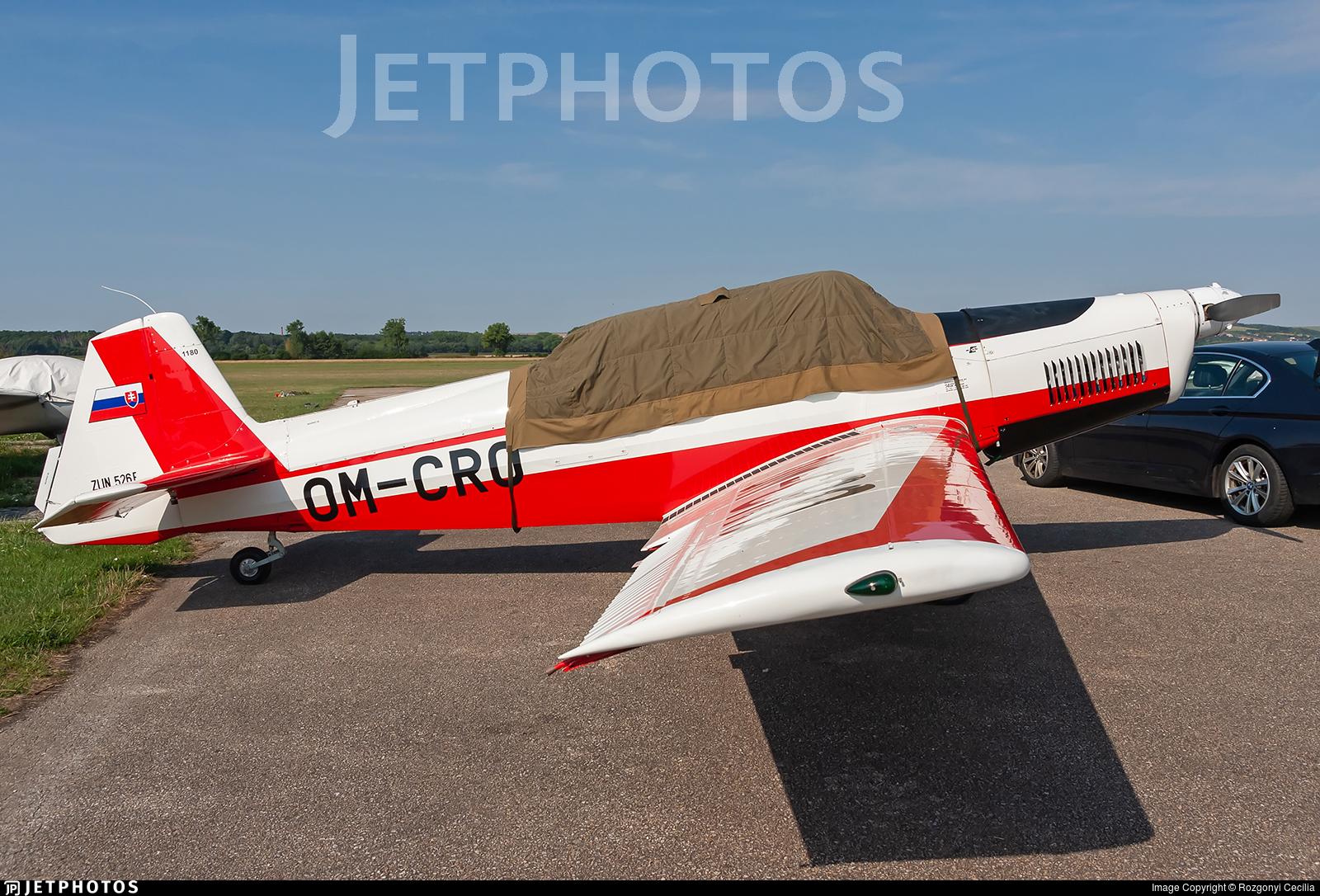 OM-CRO - Zlin 526 - Aero Club - Slovak Republic