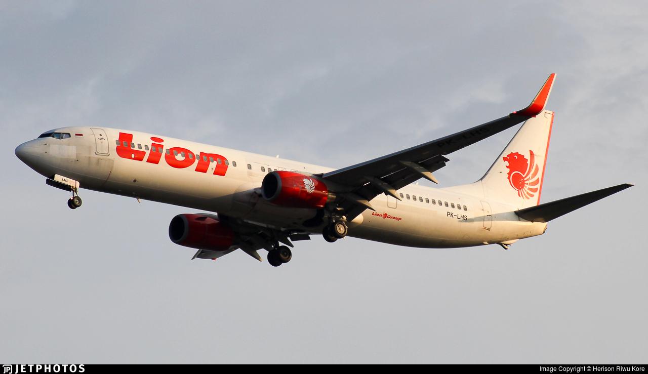PK-LHS - Boeing 737-9GPER - Lion Air