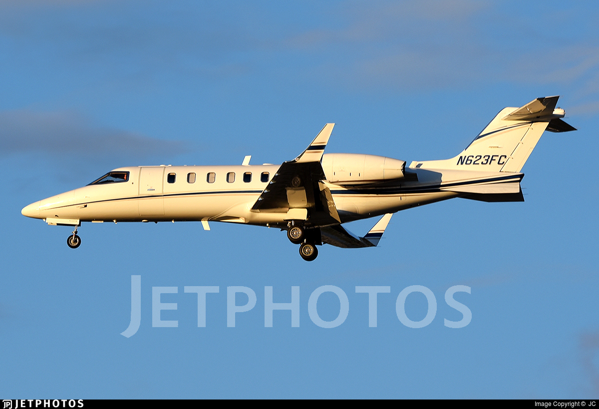 N623FC - Bombardier Learjet 45 - Private