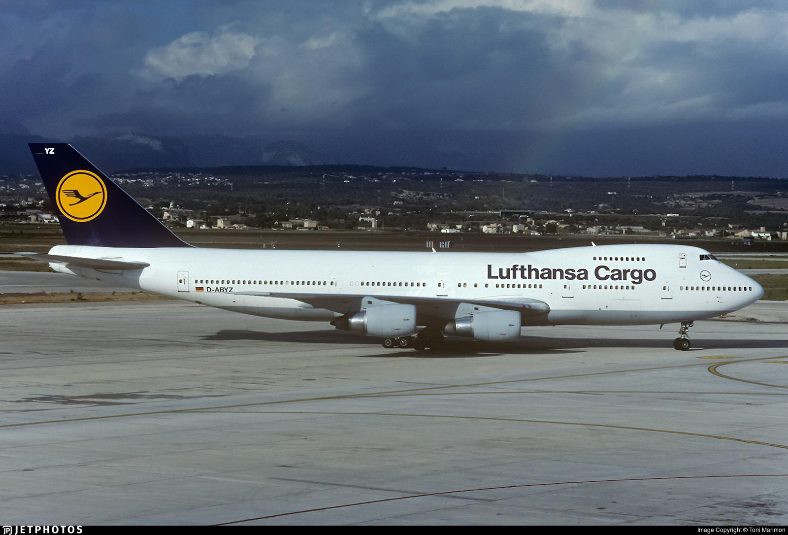 D-ABYZ - Boeing 747-230B(SF) - Lufthansa Cargo