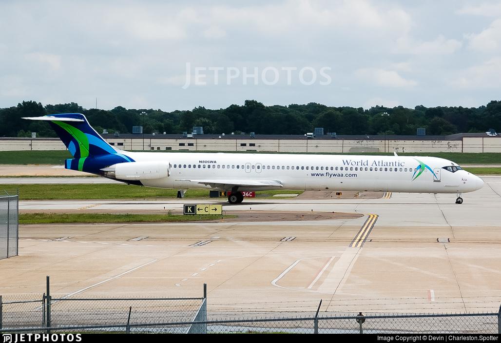 N806WA - McDonnell Douglas MD-83 - World Atlantic Airlines
