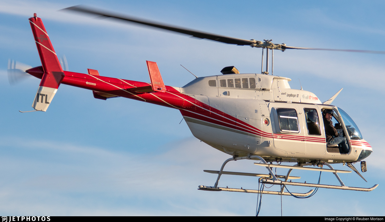 ZK-ITL - Bell 206L-4 Long Ranger IV - Helicopters Otago