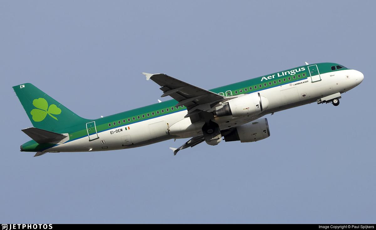 EI-DEM - Airbus A320-214 - Aer Lingus