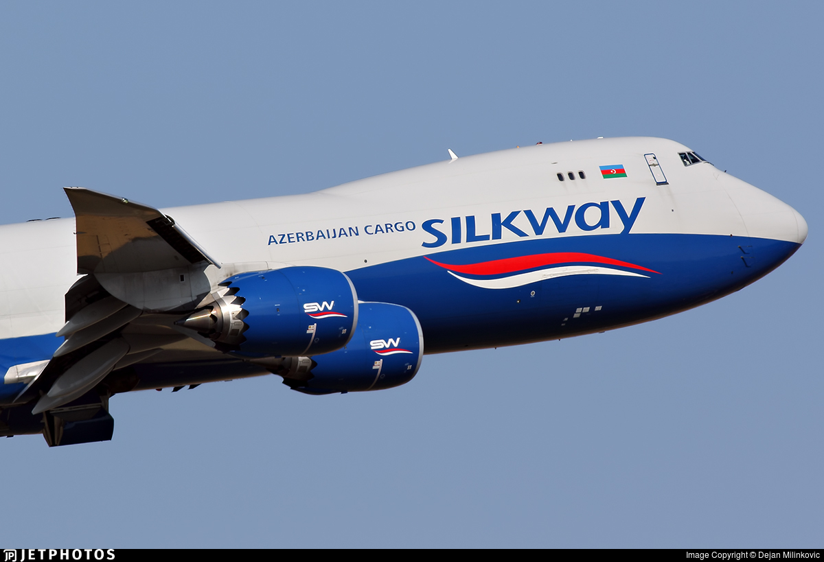 VQ-BWY | Boeing 747-83QF | Silk Way West Airlines | Dejan Milinkovic