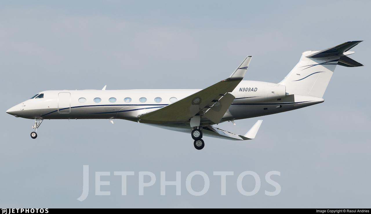 N909AD - Gulfstream G550 - Private