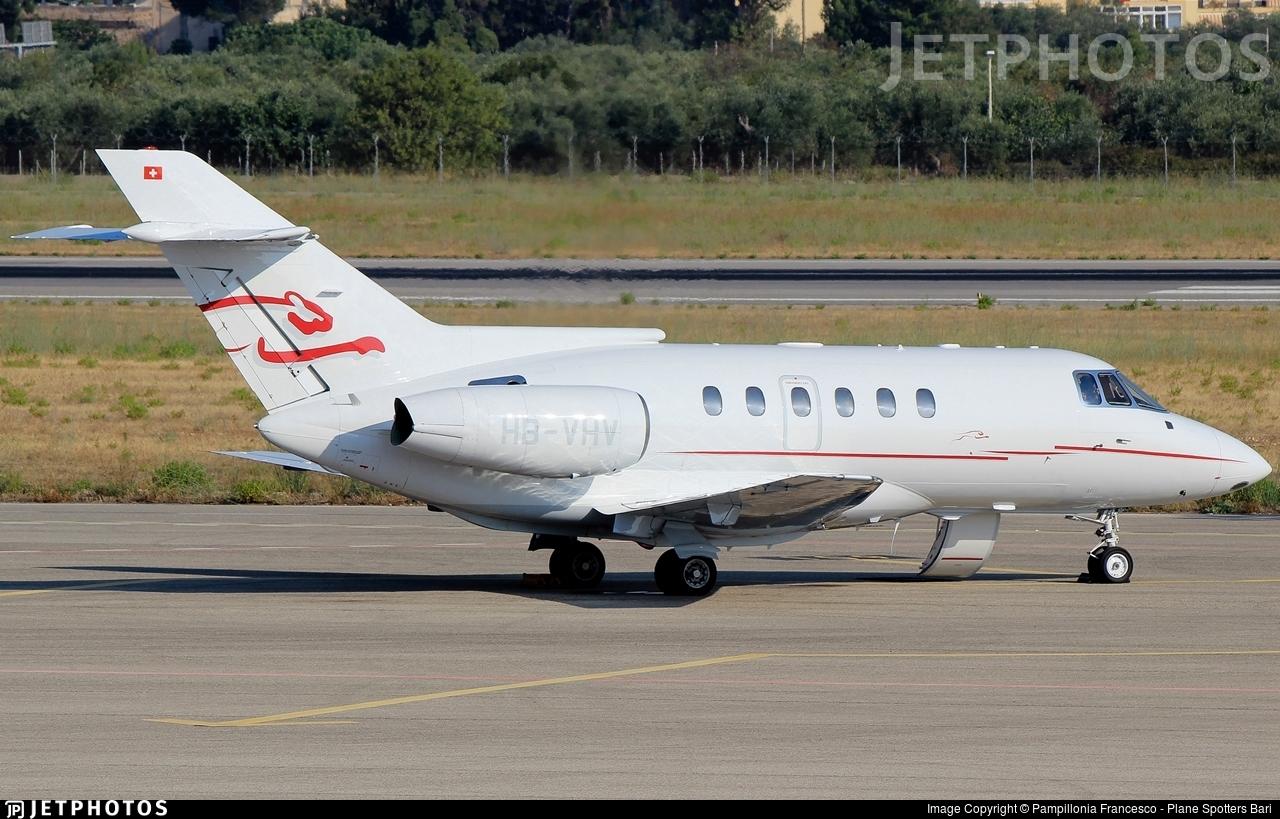 HB-VHV - British Aerospace BAe 125-800A - Cat Aviation