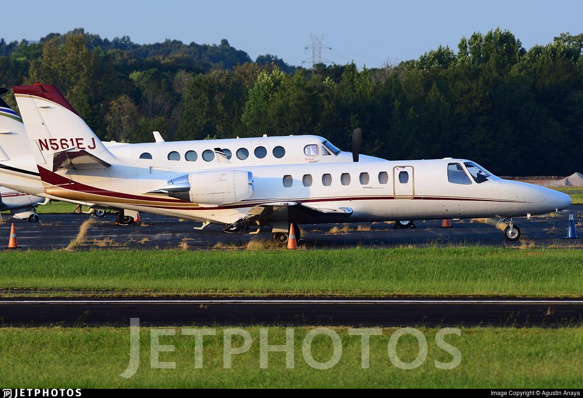 N561EJ - Cessna 560 Citation V - Private