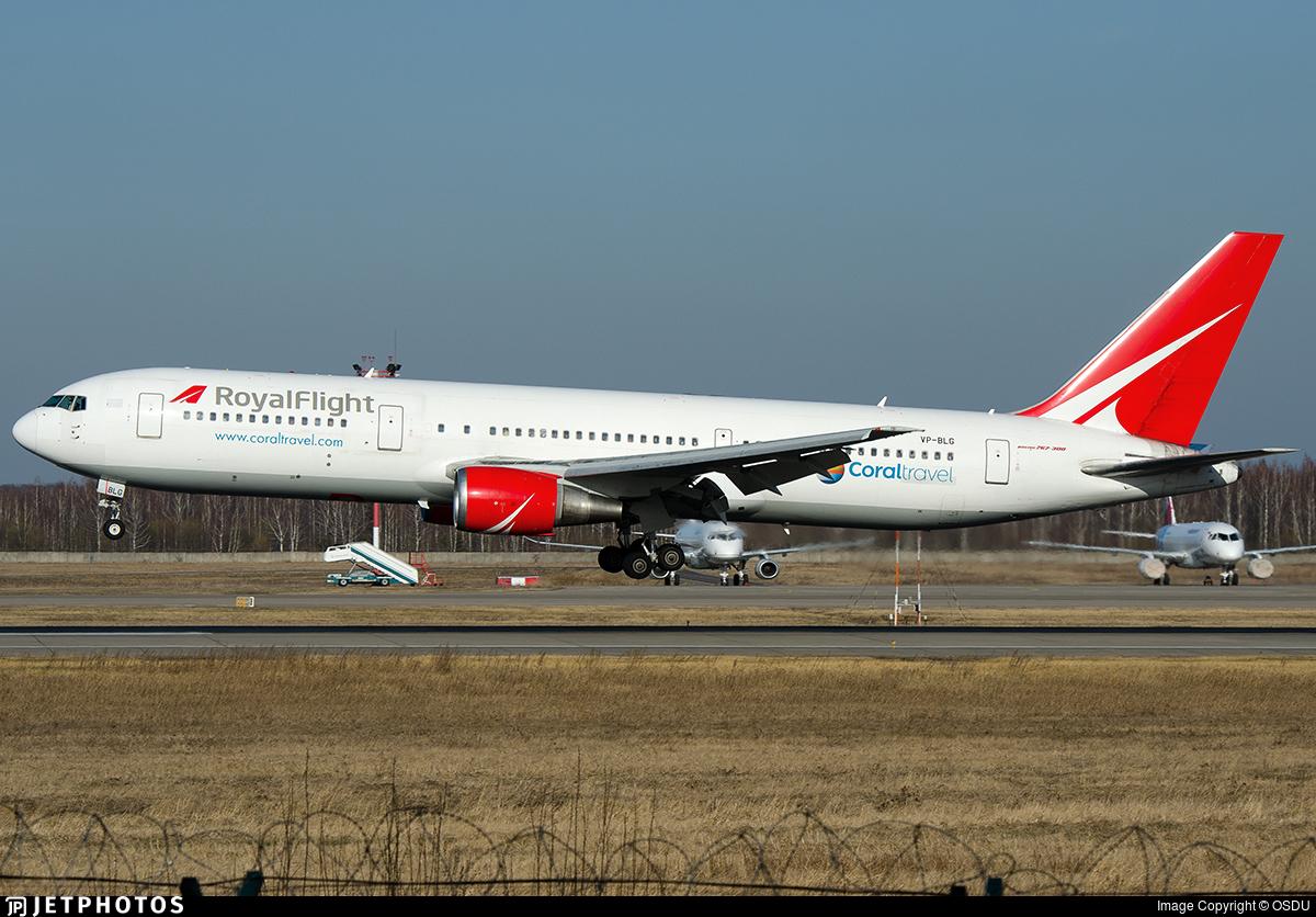 VP-BLG - Boeing 767-3Q8(ER) - Royal Flight