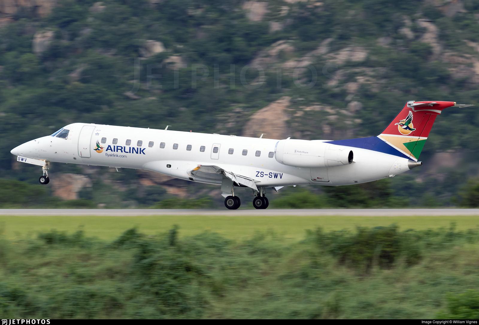 ZS-SWV - Embraer ERJ-135ER - Airlink