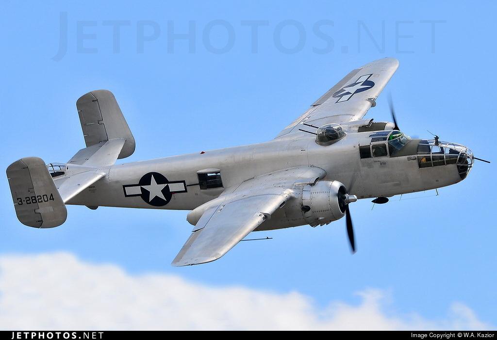 N9856C - North American TB-25N Mitchell - Private