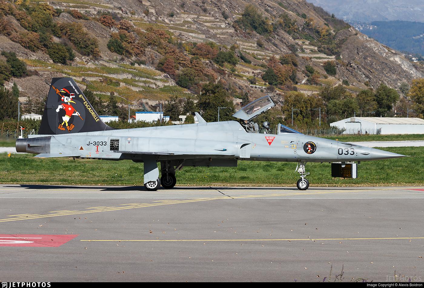 J-3033 - Northrop F-5E Tiger II - Switzerland - Air Force
