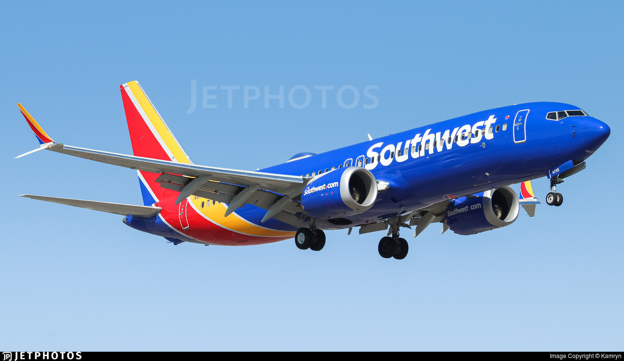 N8735L - Boeing 737-8 MAX - Southwest Airlines