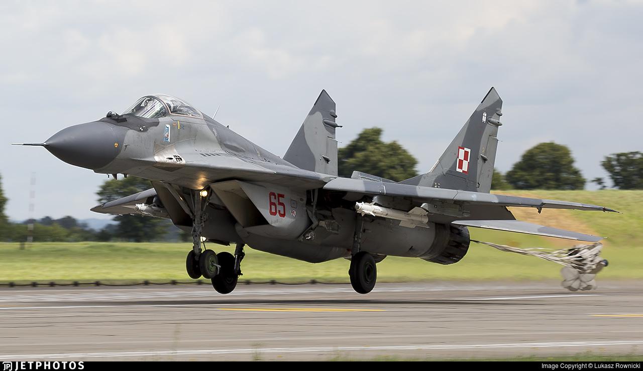 65 - Mikoyan-Gurevich MiG-29A Fulcrum A - Poland - Air Force