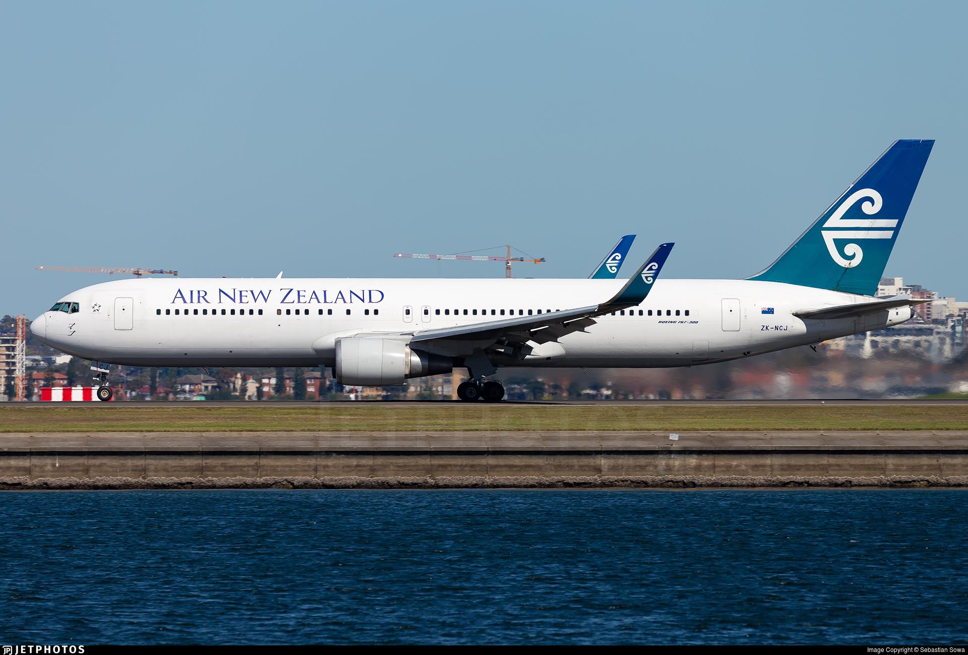 ZK-NCJ - Boeing 767-319(ER) - Air New Zealand