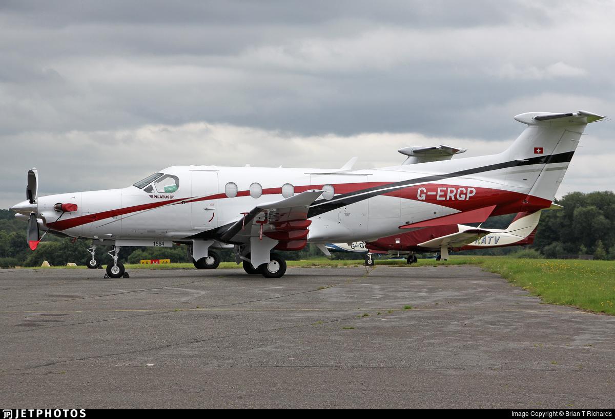 G-ERGP - Pilatus PC-12/47E - Private