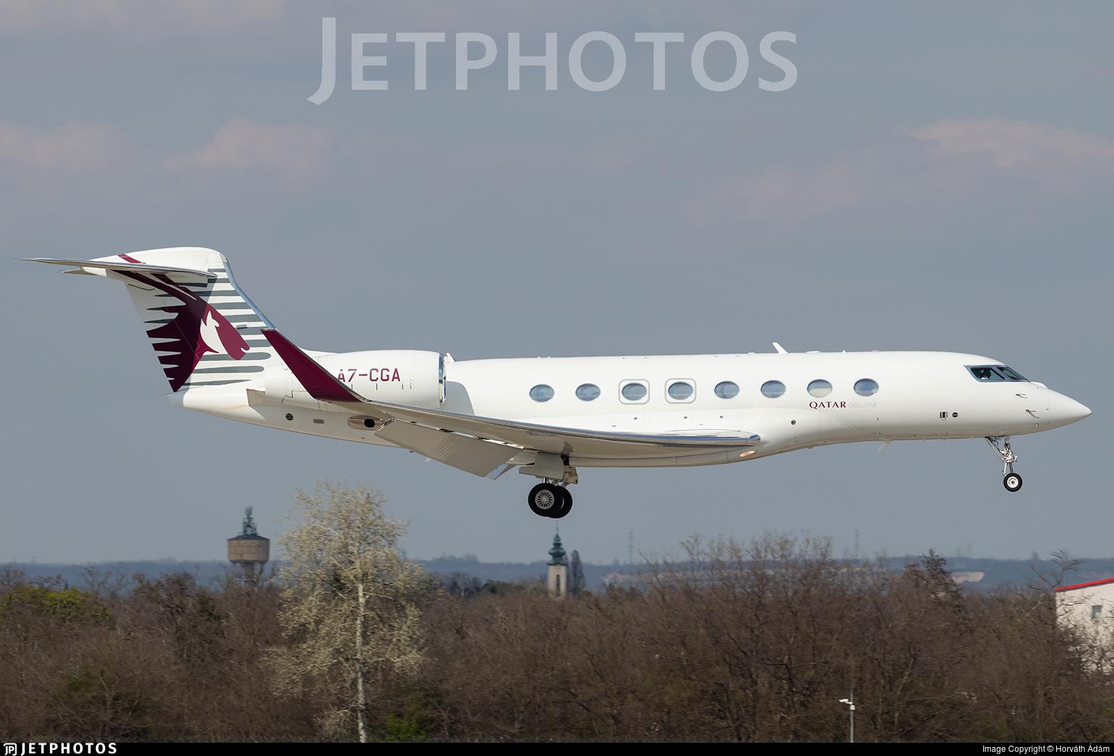 A7-CGA - Gulfstream G650ER - Qatar Executive