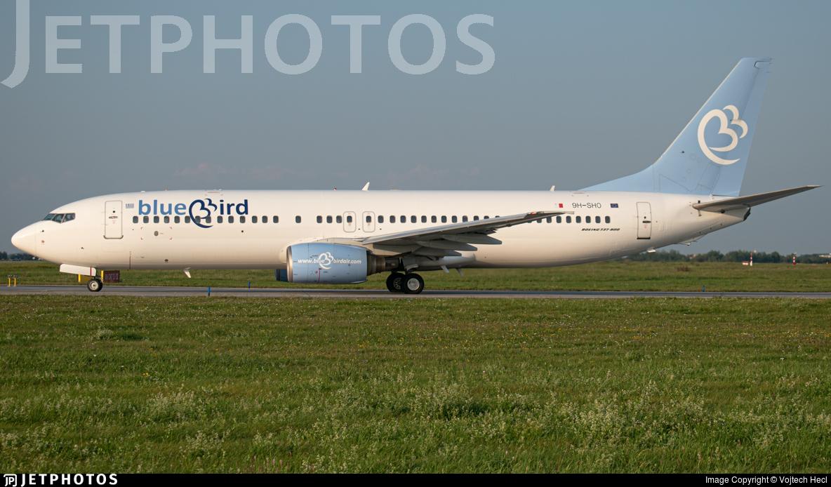 9H-SHO - Boeing 737-85F - Bluebird Airways