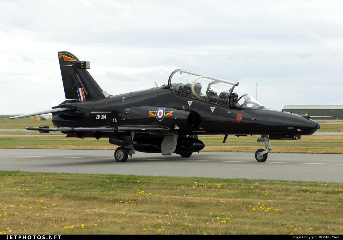 ZK014 - British Aerospace Hawk T.2 - United Kingdom - Royal Air Force (RAF)