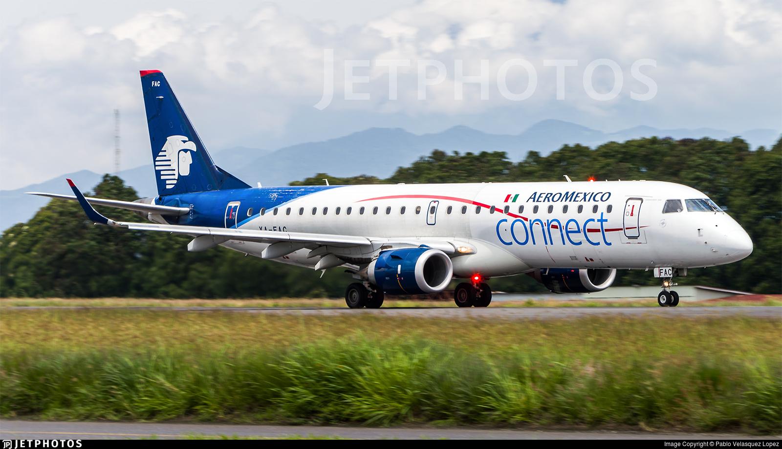 XA-FAC - Embraer 190-100LR - Aeromexico Connect