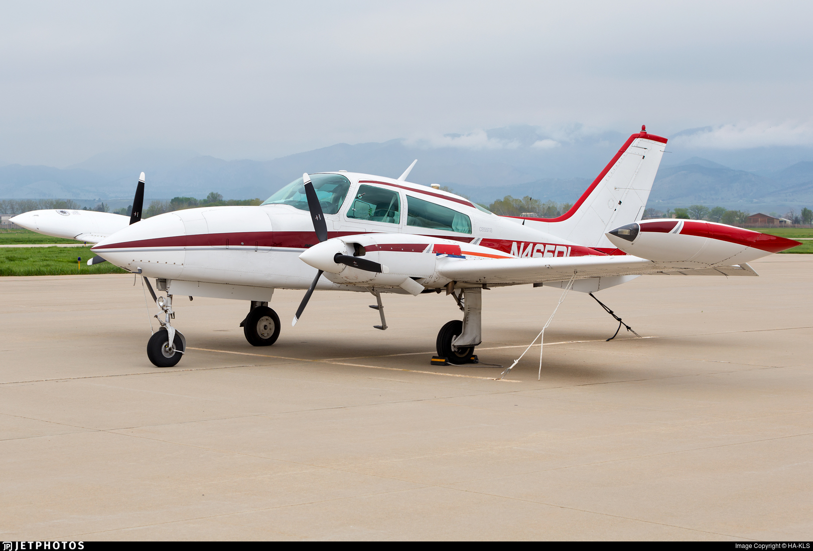N465DL  - Cessna T310R - Private