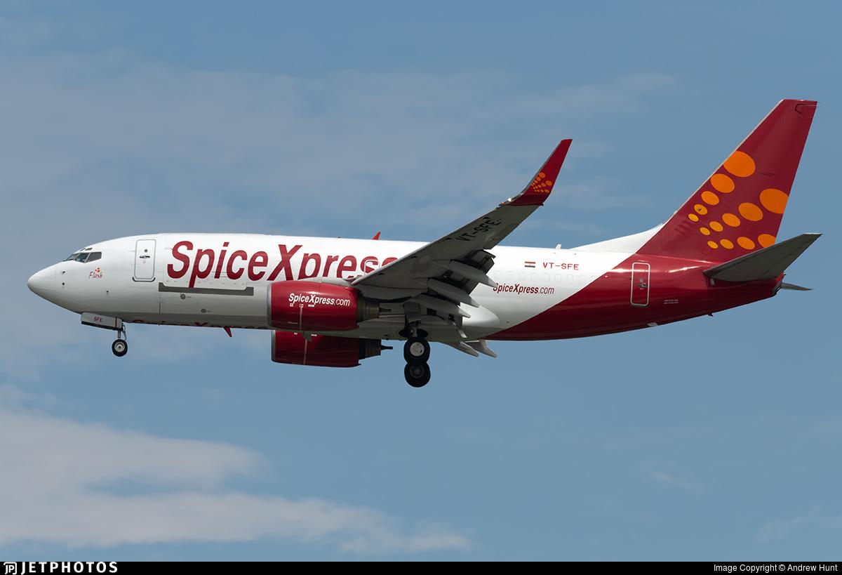 VT-SFE - Boeing 737-75C(BDSF) - SpiceXpress