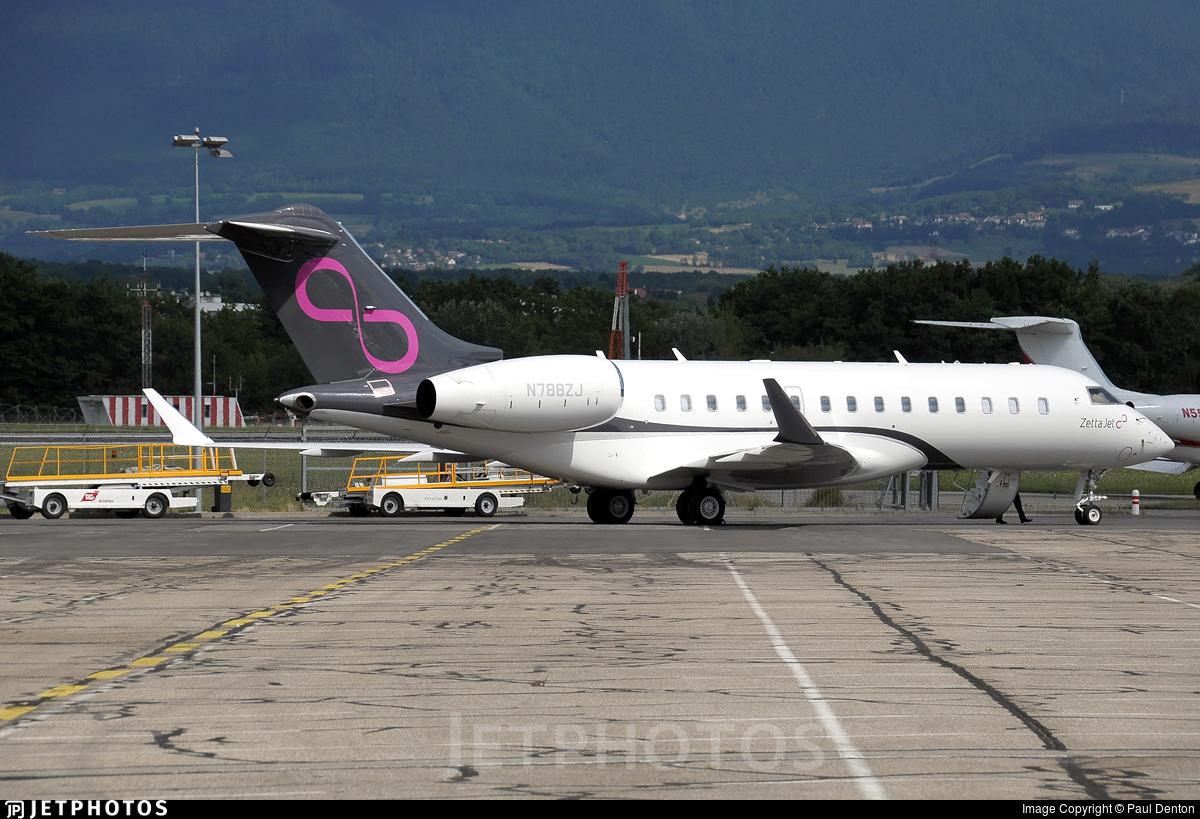 N788ZJ - Bombardier BD-700-1A10 Global 6000 - Zetta Jet