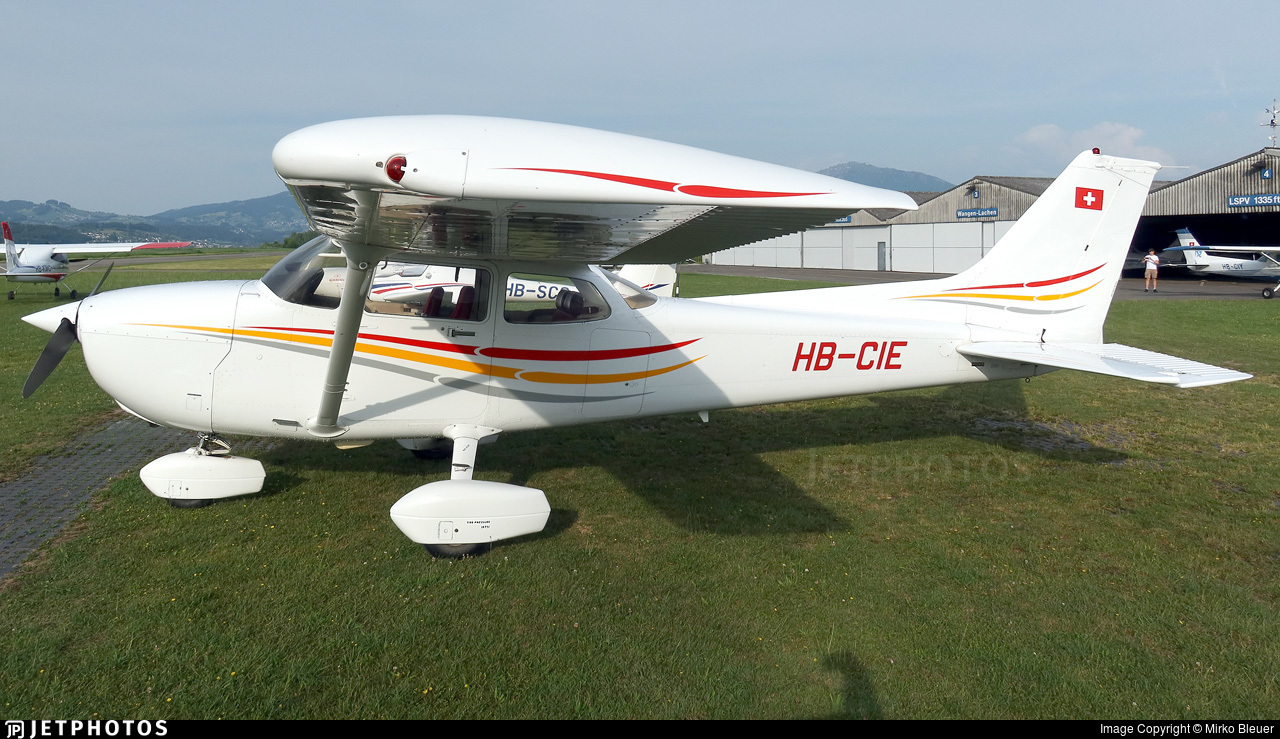 HB-CIE - Reims-Cessna F172P Skyhawk II - Motorfluggruppe Thun
