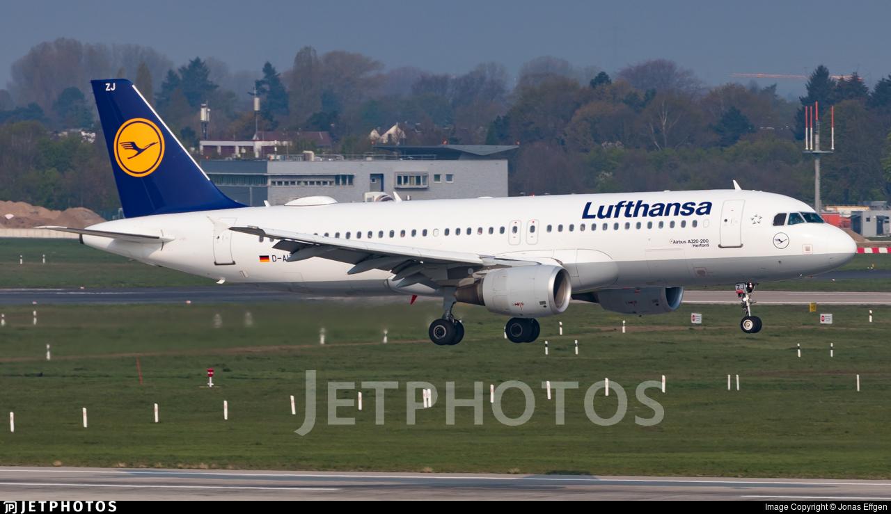 D-AIZJ - Airbus A320-214 - Lufthansa