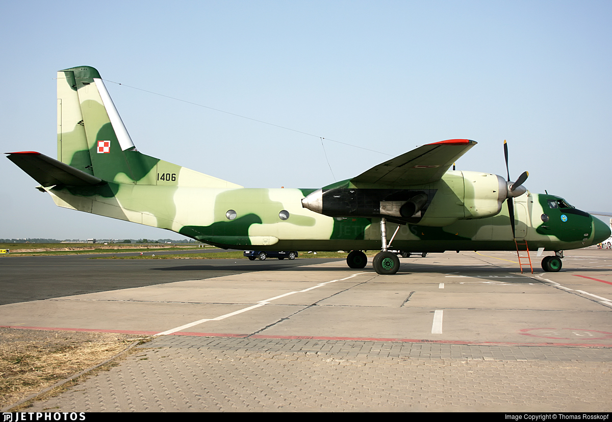 1406 - Antonov An-26 - Poland - Air Force