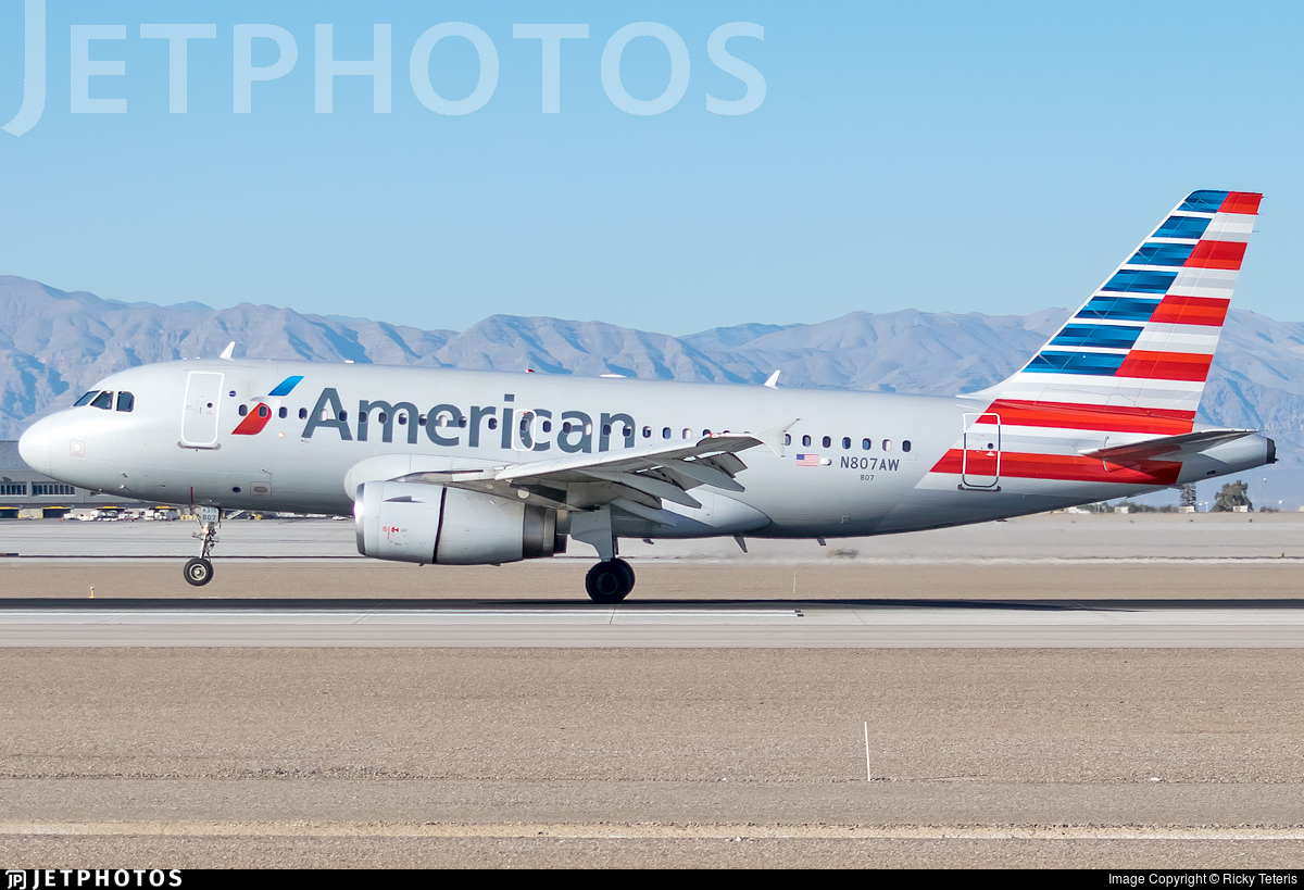 N807AW - Airbus A319-132 - American Airlines