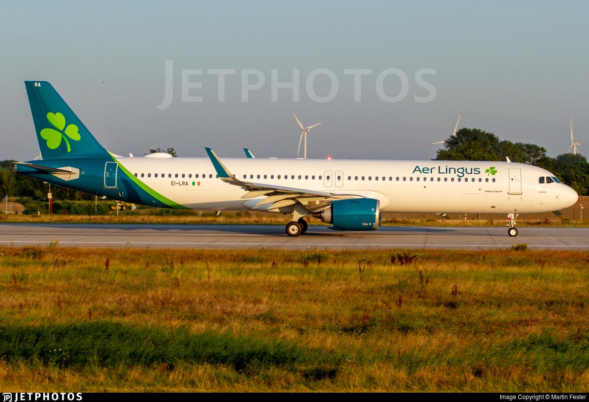 EI-LRA - Airbus A321-253NX - Aer Lingus
