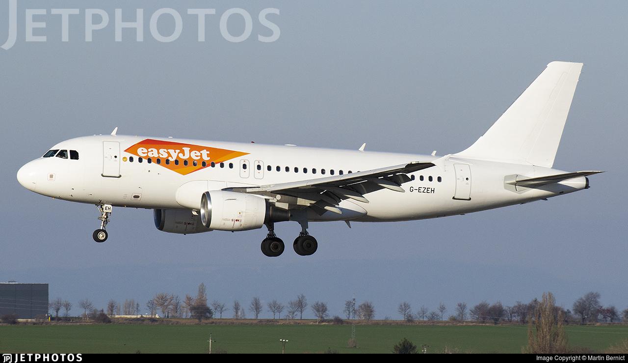 G-EZEH - Airbus A319-111 - easyJet