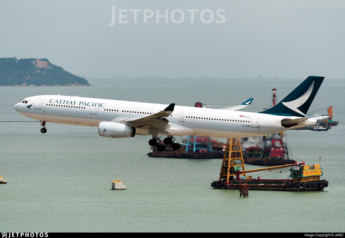 B-HLM - Airbus A330-343 - Cathay Pacific Airways
