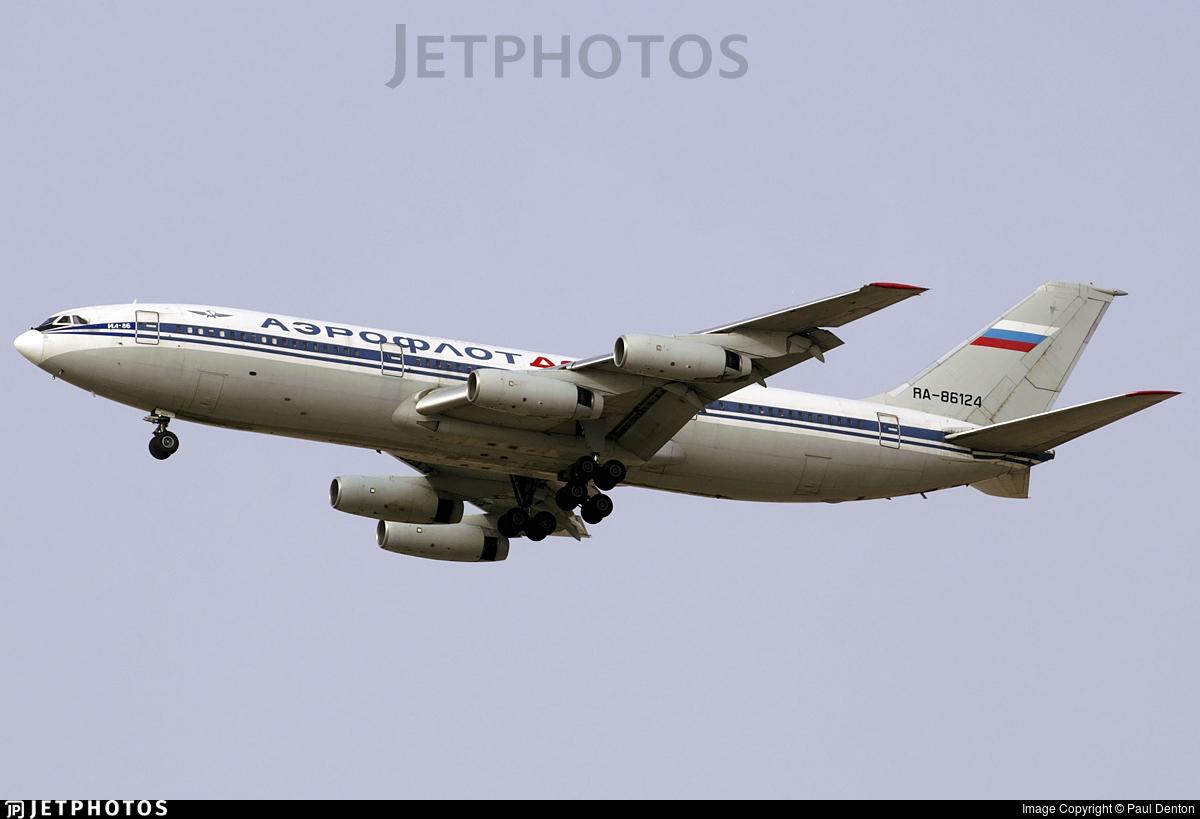 RA-86124 - Ilyushin IL-86 - Aeroflot-Don