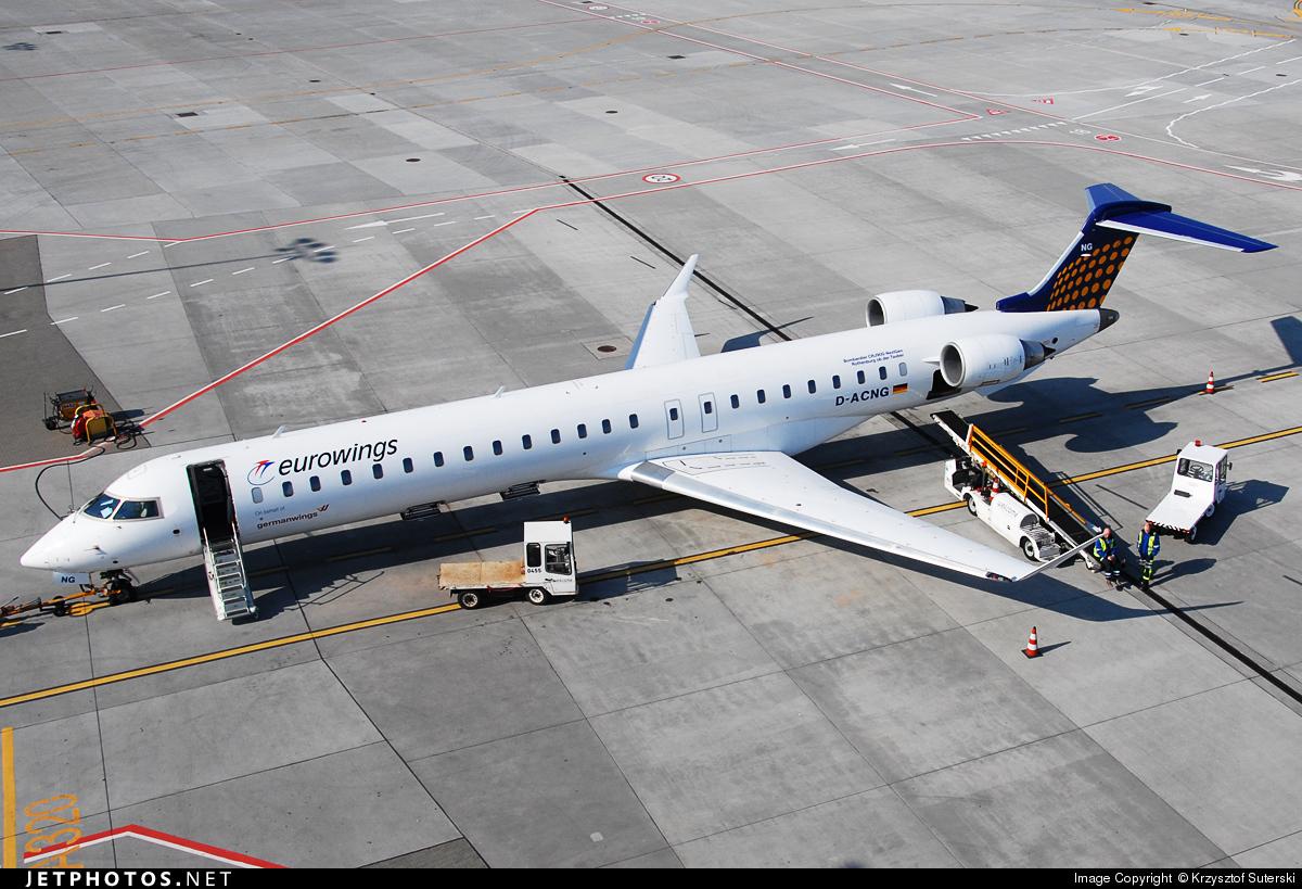 D-ACNG - Bombardier CRJ-900LR - Eurowings