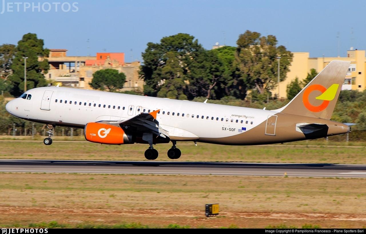 SX-SOF - Airbus A320-232 - Orange2Fly