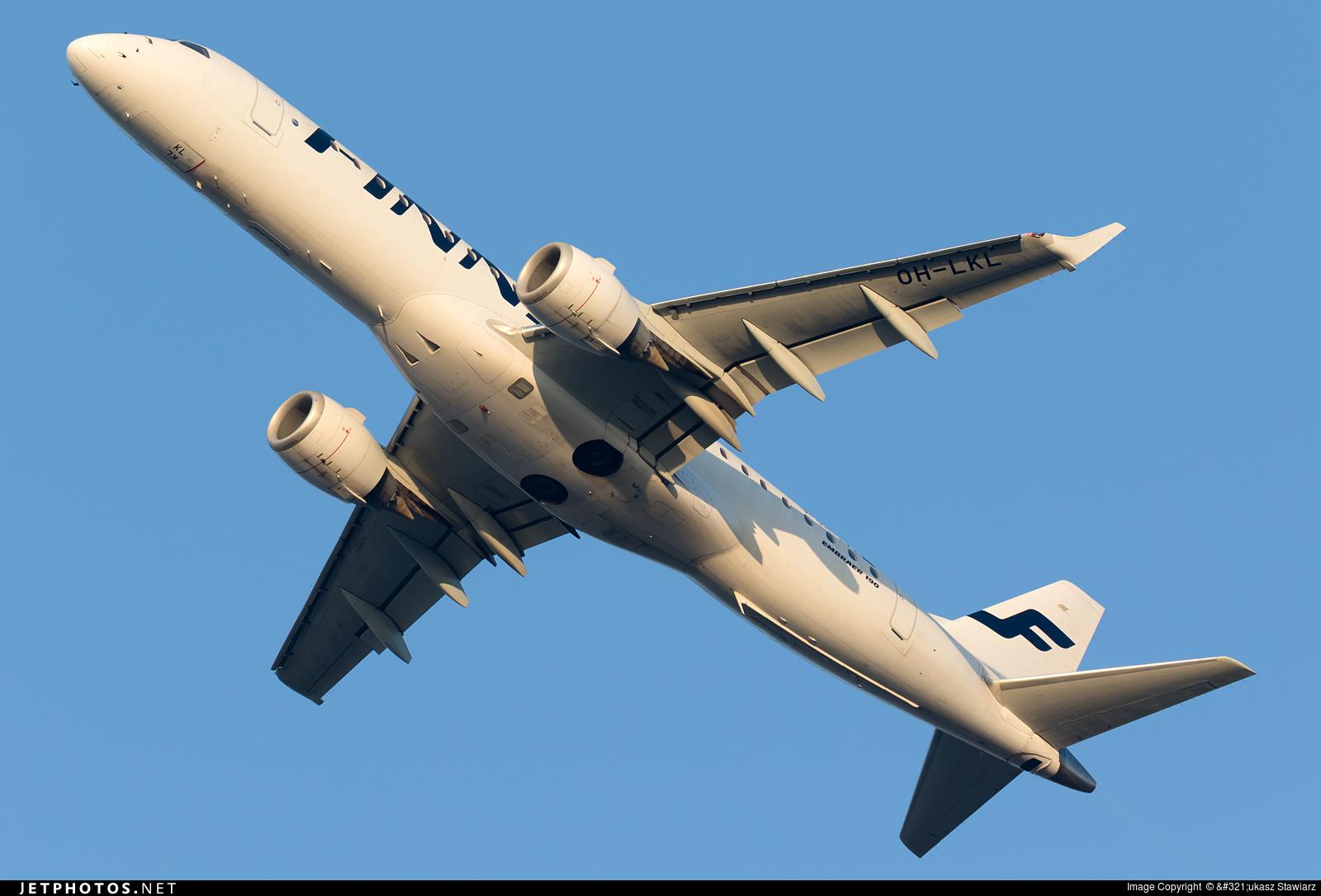 OH-LKL - Embraer 190-100LR - Finnair