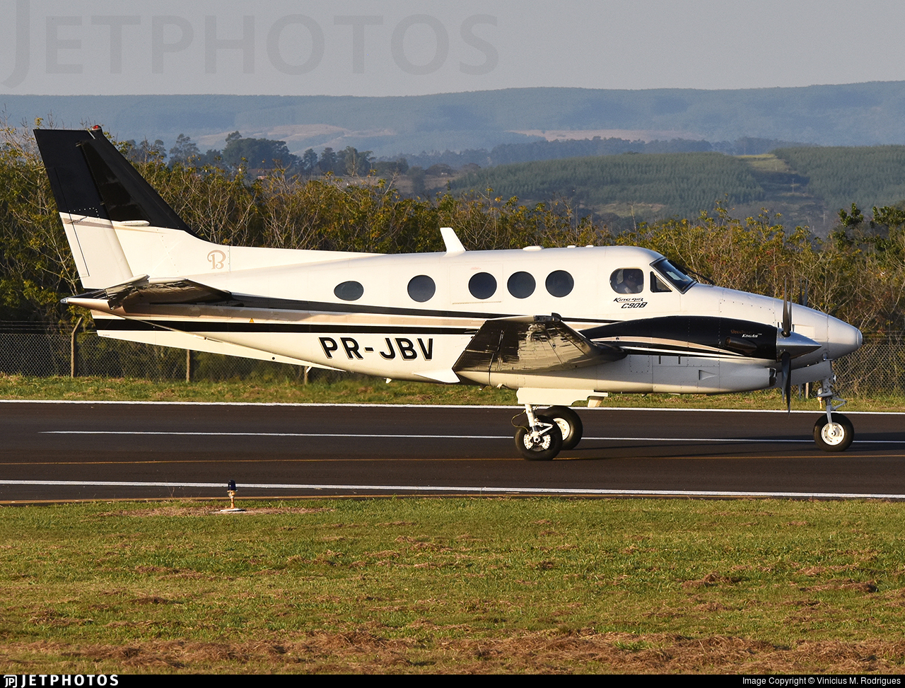 PR-JBV - Beechcraft C90B King Air - Private