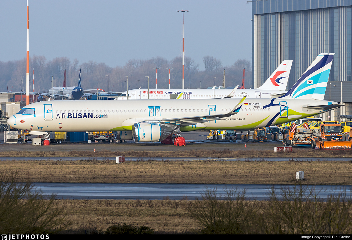 D-AZAF - Airbus A321-251NX - Air Busan