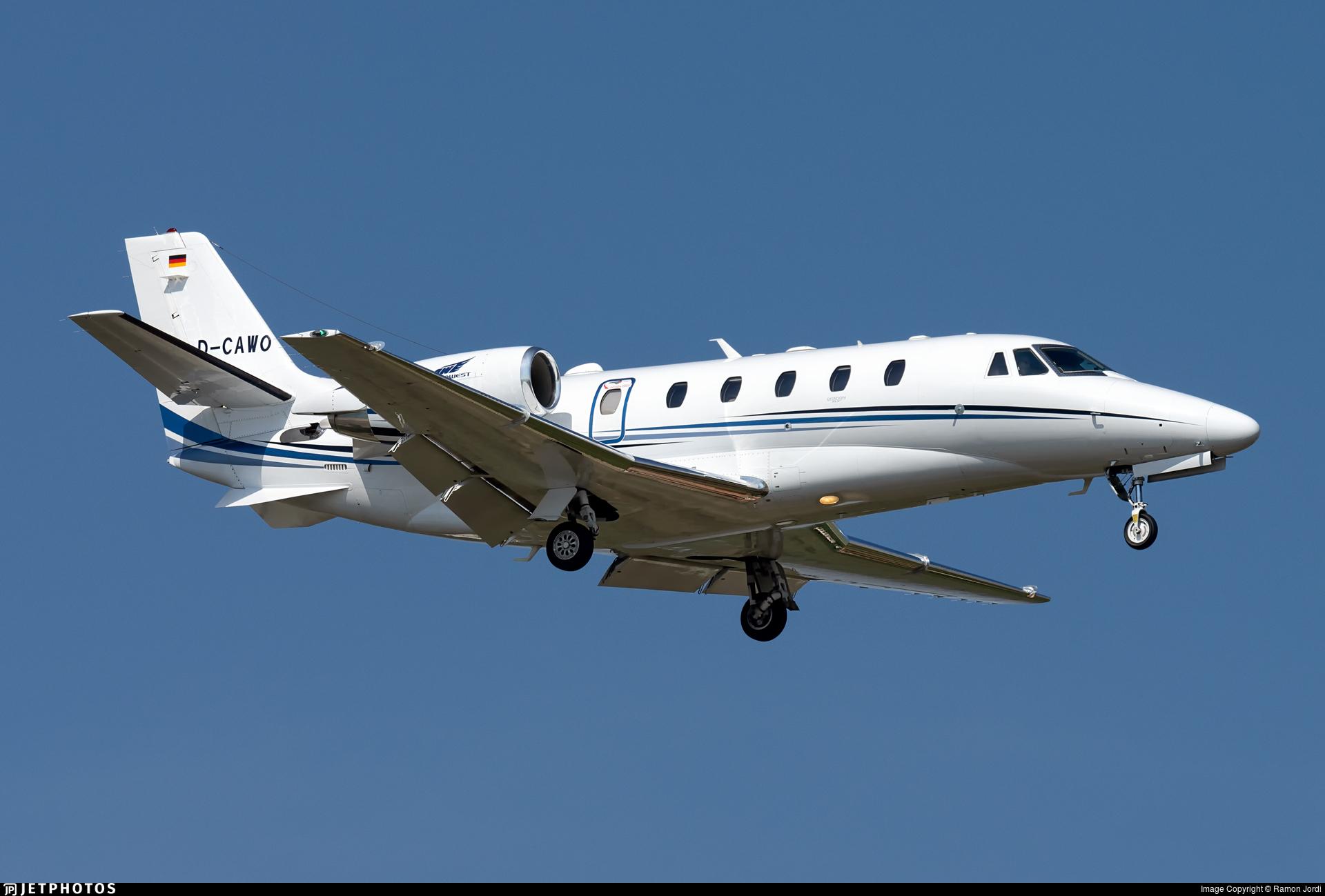 D-CAWO - Cessna 560XL Citation XLS+ - Aerowest Flugcharter