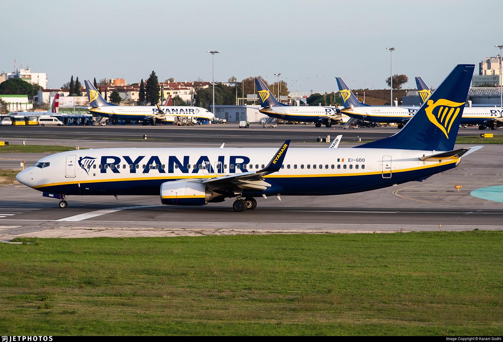 EI-GDO - Boeing 737-8AS - Ryanair