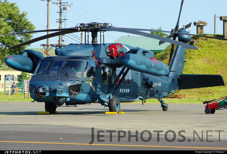 48-4580 - Mitsubishi UH-60J - Japan - Air Self Defence Force (JASDF)