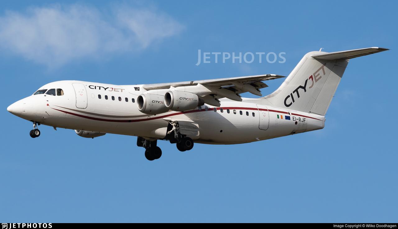 EI-RJF - British Aerospace Avro RJ85 - CityJet
